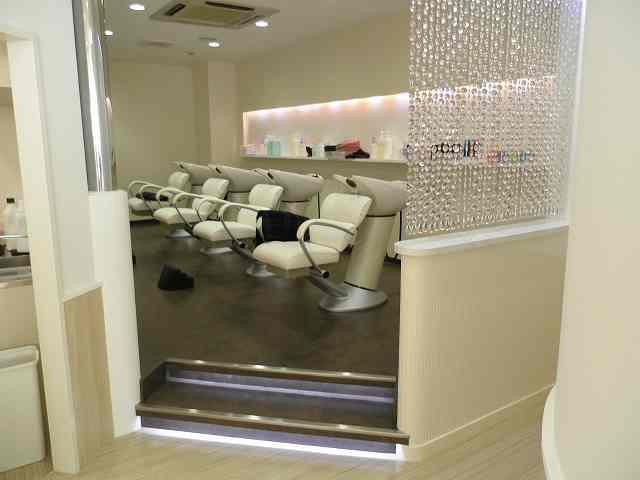 美容室 内装 店舗 静岡 工事 LED 間接照明 デザイン インテリア